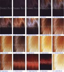 Buy Hair Color Chart From Dharmex Indian Hair Exports India