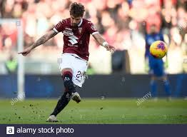 Turin, Italy - 12 January, 2020: Simone Verdi of Torino FC ...