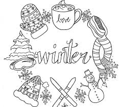 Small Picture 100 ideas Free Online Winter Coloring Pages on kankanwzcom