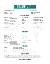 Acting Resume Template With Picture Awesome Photos Child Acting