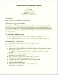 Nursing Resume Examples With Clinical Experience New Grad Nursing Resume Clinical Experience Emberskyme 22
