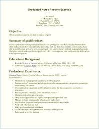 Nursing Resume Examples New Grad New Grad Nursing Resume Clinical Experience Emberskyme 18