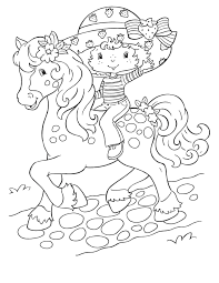 Strawberry Shortcake Coloring Pages Coloring Page