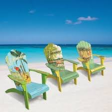 tropical painted furniture. Modren Furniture Tropical Painted Furniture Painting Adirondack Cool Chairs On Beach With  Best Tropical Ideas Pinterest Pineapple Painted Furniture