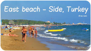 turkey country beaches. Plain Country East Beach In Side Turkey For Country Beaches B