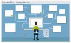 template office heres a free e learning interaction template the rapid e learning
