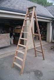 slingsby 8 ft wooden step ladder