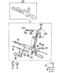 parts com® hyundai stopper rack partnumber 5773827000 1997 Hyundai Elantra Engine Diagram 1997 hyundai tiburon base l4 1 8 liter gas steering gear & linkage
