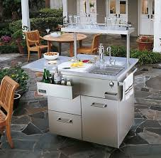 outdoor kitchen island on some perceptions modern home