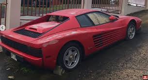 Abandoned Ferrari Testarossa Was Sitting In The Puerto Rican Sun For 17 Years Carscoops