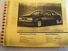 maserati service manual maserati biturbo 2000 2500 copy of service manual 1984 86