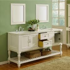 90 Bathroom Vanity Direct Vanity Sink Mission Turnleg 70 In Double Vanity In Pearl