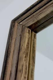 diy wood mirror frame. Delighful Mirror Wood Mirror Frame Multi Reclaimed Layered  Bathroom Diy Inside Diy Wood Mirror Frame H