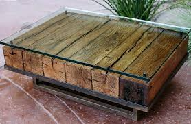 recent reclaimed wood and glass coffee tables inside rustic wood coffee table style choosing rustic
