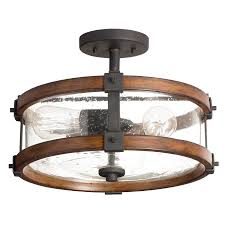semi flush mount light view larger