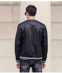 winter leather jacket men