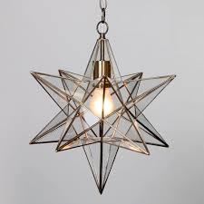 pendant lights fascinating star pendant light moravian star chandelier large nickel glass star pendant light