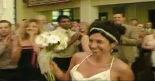 talk about an entrance! st paul wedding video wows the world Wedding Dance Kevin Heinz Jill Peterson st paul wedding video wows the world twin cities Jill Peterson Marina Del Rey