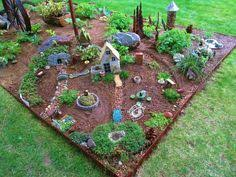 Large Fairy Garden