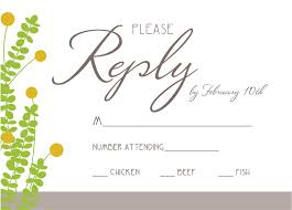 Rsvp Card Wording 7 Images Wedding Quotes Links