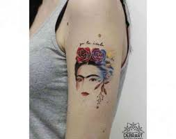 22 Badass Frida Kahlo Tattoos That Are Total Pieces Of Art Yourtango