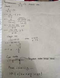 Pertidaksamaan merupakan kalimat matematika terbuka yang menggunakan sebuah tanda > (lebih dari), < (kurang dari) ≤ (kurang dari atau sama. Tolong Buatkan Contoh Soal Cerita Pertidaksamaan Rasional Beserta Jawabannya Brainly Co Id