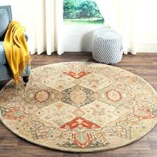6 foot round rug. 5 Ft Round Rug 6 Area Rugs Foot Cheap Intended For Remodel 18 G