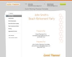 Event Planning Proposal 4 Secrets For Writing Great Event Management Proposals