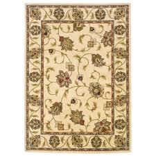 oriental weavers of america addison ivory indoor nature area rug common 5 x 8