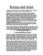 romeo and juliet assignment the course of true love never did run   the course of true love never did run smooth describe by what techniques shakespeare