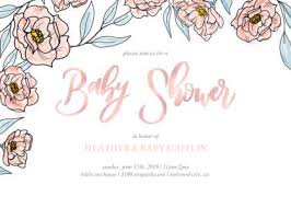 baby girl invite baby girl shower invitations and cute photo card templates