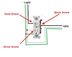 wiring a light switch and outlet diagram wiring how to wire switch outlet combo diagram wirdig on wiring a light switch and outlet diagram