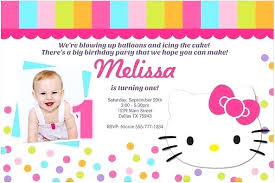 Printable Hello Kitty Invitations Personalized Hello Kitty Printable Birthday Card Nice Free Template