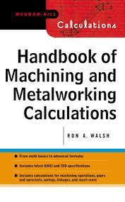 Engineering Design Handbook Pdf Handbook Of Machining And Metalworking Calculations Ebook