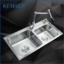 Kemaidi Kitchen Stainless Steel Sink Vessel Kitchen Washing Dishes