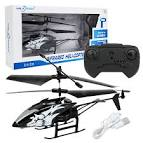 <b>Two</b>-<b>way Remote Control Helicopter</b> Model Aircraft Shatterproof Boy ...