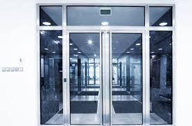 commercial glass entrance doors