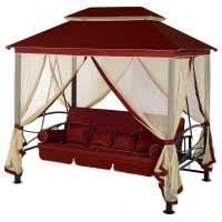 <b>Беседка</b>-<b>качели Удачная Мебель</b> Пальмира Винная - описание ...