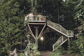 Plain Tree House Hotel Pool Treehouse Hotels Nest Ignantcom Throughout Modern Ideas