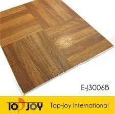 self adhesive wood tile pvc flooring anti skid