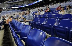 Miami Marlins Interactive Seating Chart Mlb Attendance Down Another 1 4 4th Straight Drop