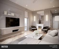 Modern Light Gray Living Room Modern Beige Gray Image Photo Free Trial Bigstock