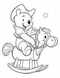 Winnie De Pooh Kerst Kleurplaat