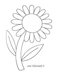 Disegni Da Colorare Categoria Fiori E Piante Immagine Girasole