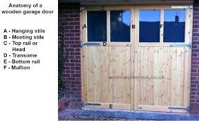 diy wood garage doors woodworking plans how to make a wooden garage door how to build diy wood garage doors