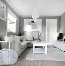 White, grey living room via frufly.