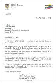 C1 C2 Modelo De Carta Formal Carta De Agradecimiento De Patricia