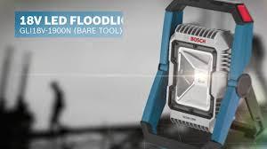 Bosch 18v Light Gli18v 1900n 18 V Led Floodlight Bare Tool Bosch Power