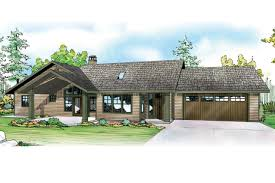 front home design. Ranch House Plan - Elk Lake 30-849 Front Elevation Home Design G