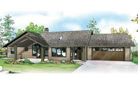 ranch house plan elk lake 30 849 front elevation